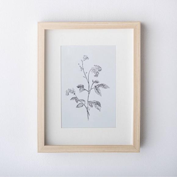 Threshold x Studio McGee floral framed art